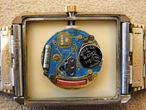電池式時計分解