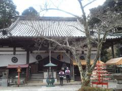 海住山寺本堂(リサイズ) H24/3/25