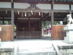 恭仁神社本殿(リサイズ) H24/3/25