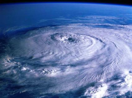 巨大な台風