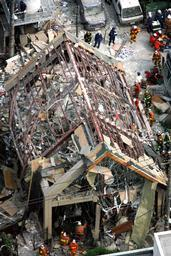 渋谷の温泉施設で爆発
