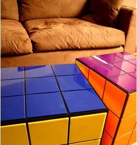 ルービックキューブ型テーブル