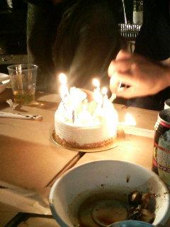 祝三十路ケーキ☆