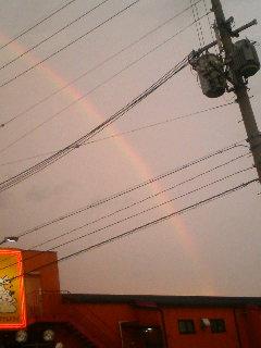 二度目の虹☆