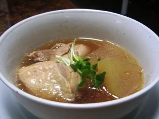 冬瓜と鶏のスープ