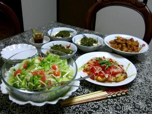 9月20日の晩ご飯