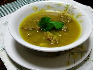 牛スジのスープカレー