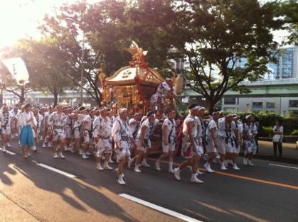 天神祭20114