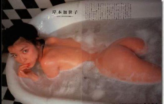 【岸本加世子】セミヌード写真スライドショー