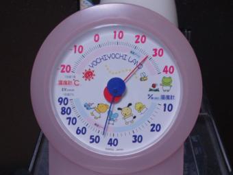 お部屋の湿度温度