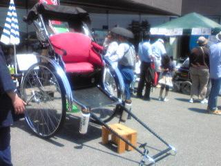 20110515中原街道時代祭り 人力車