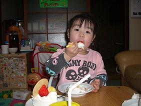 ハハ誕生日2007(ケーキ)