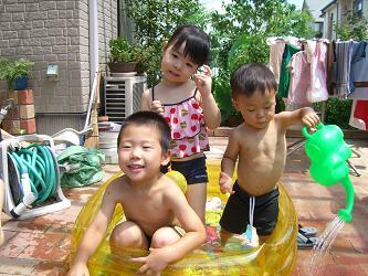 広島・2007夏(水遊び1)