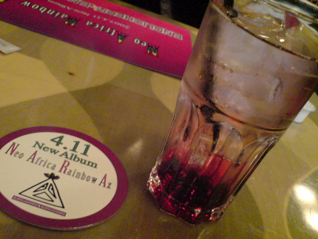 ENDLICHERI☆ENDLICHERI 渋谷cafe カシスソーダ