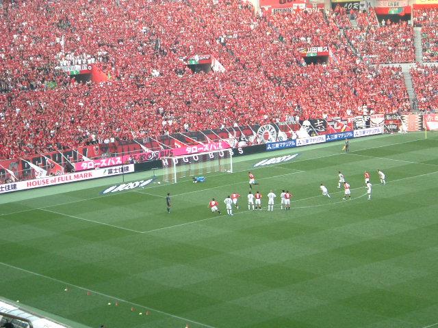 埼玉スタジアム2002 PKとめられた!