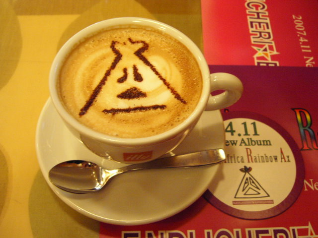 ENDLICHERI☆ENDLICHERI 渋谷cafe カプチーノ