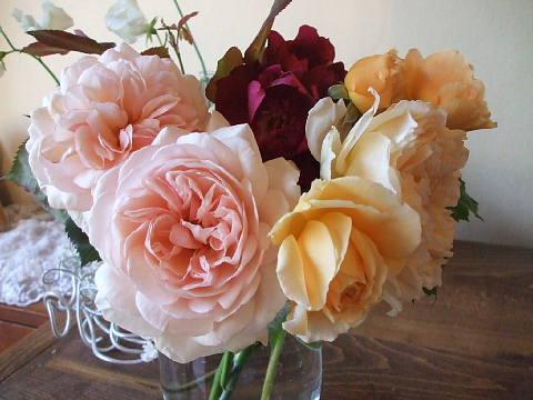 豪華な薔薇