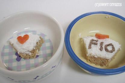2パピのケーキ♪