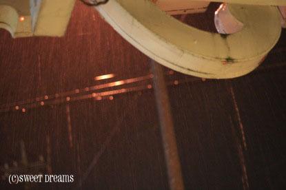 突然の豪雨Σ(;´□`;)アゥ