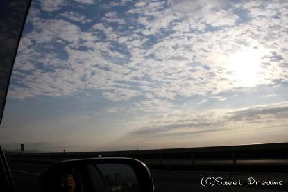 昨日の朝陽♪