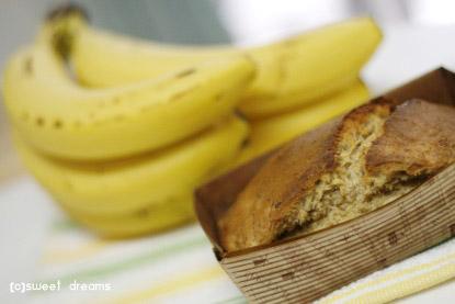 バナナココナッツケーキ焼きました( ・∀・)