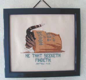 He that seeketh