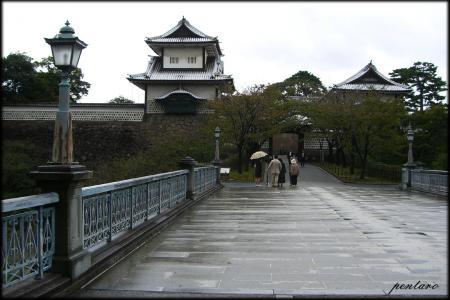 石川橋と石川門