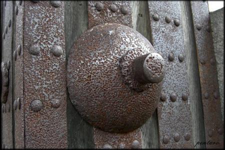 一の門門扉