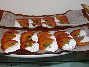 Tartelettes myrtilles au vin