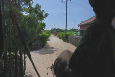 牛車の行く道