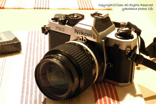 Nikon newFM2 35mmF1.4