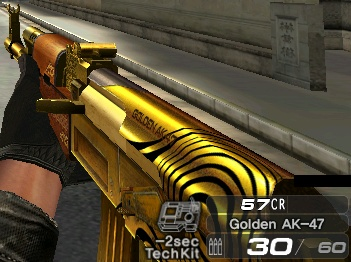 Golden AK-47