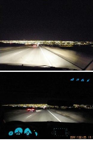 Albuquerqueの夜景