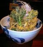 野菜かき揚げ蕎麦