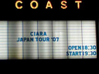 Ciara Japan Tour 2007