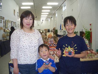 暑い沖縄 シーサー