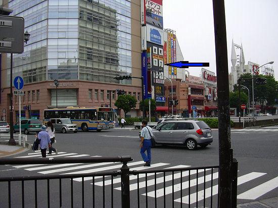 関内駅付近交差点