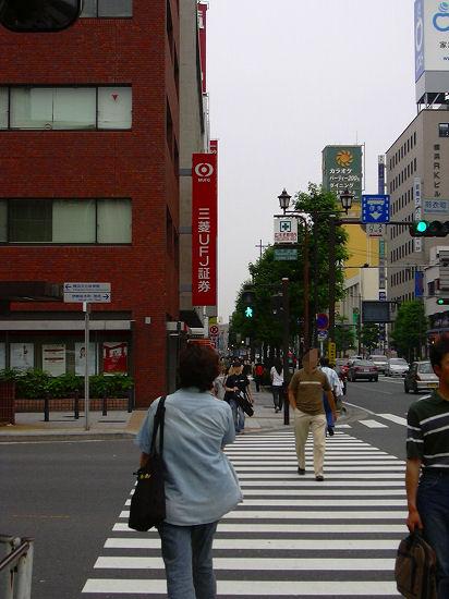 関内駅からの道1