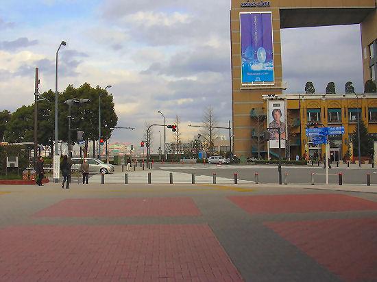 1の横断歩道