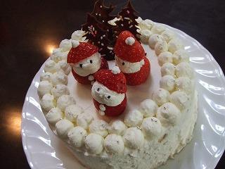 サンタケーキ