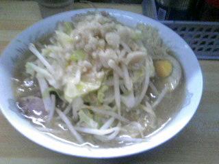 ラーメン二郎_品川店_麺