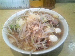 ラーメン二郎荻窪店_麺