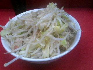 ラーメン二郎小岩店_麺