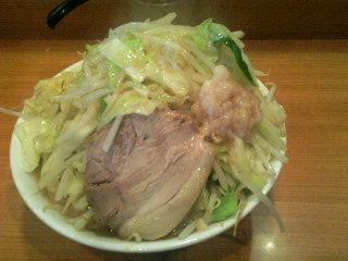 ラーメン二郎八王子野猿街道店2_麺