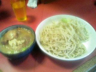ラーメン二郎歌舞伎町店_つけ麺