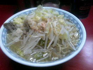 ラーメン二郎目黒店_麺