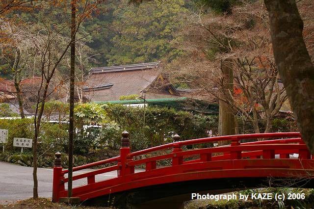 初冬の小国神社