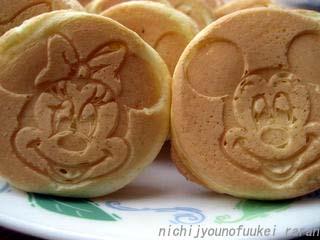 ミッキーホットケーキ2