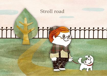 rk stroll-road