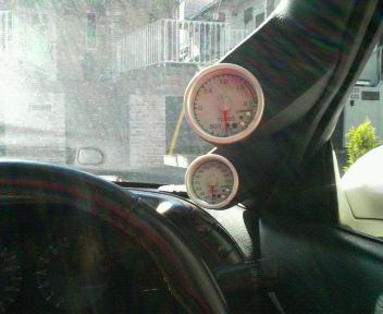 ブースト計&油温計